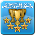 BravoFiles 5 Stars Award